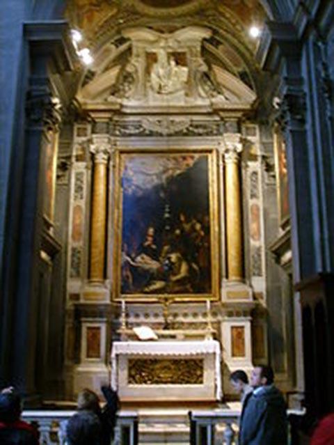 cappella mazzei di firenze