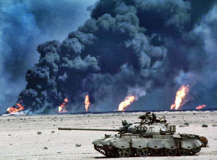 guerra del golfo carro armato